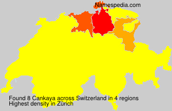 Surname Cankaya in Switzerland