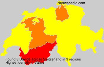 Surname Davide in Switzerland