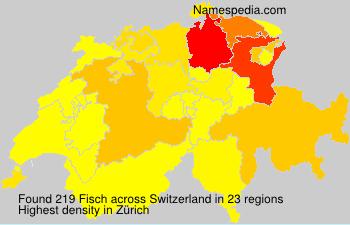 Familiennamen Fisch - Switzerland