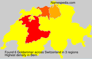 Surname Goldammer in Switzerland