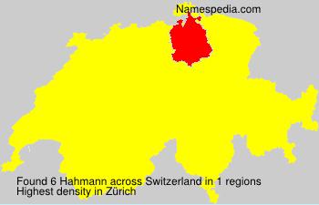 Hahmann