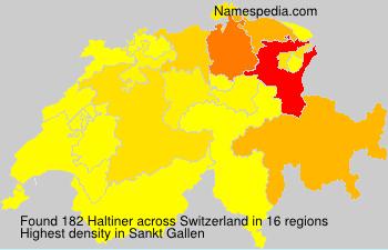 Haltiner