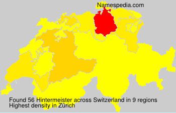 Hintermeister