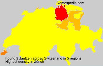 Familiennamen Jantzen - Switzerland
