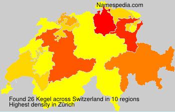 Familiennamen Kegel - Switzerland