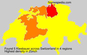 Kleebauer