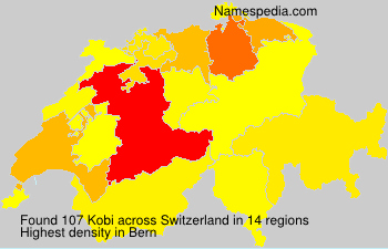 Surname Kobi in Switzerland
