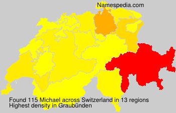 Familiennamen Michael - Switzerland