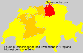 Surname Oelschlager in Switzerland