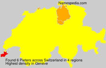 Familiennamen Pieters - Switzerland