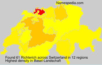 Familiennamen Richterich - Switzerland