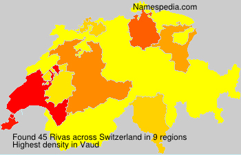 Familiennamen Rivas - Switzerland