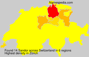 Surname Sandor in Switzerland