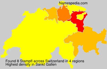 Surname Stampfl in Switzerland