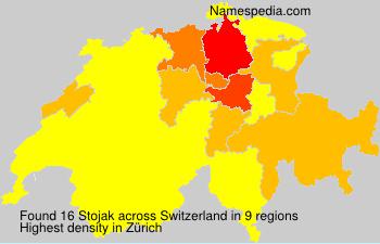 Familiennamen Stojak - Switzerland