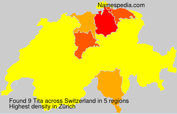 Surname Tita in Switzerland