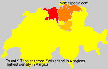 Surname Toppler in Switzerland