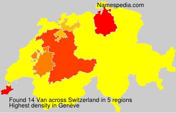 Van - Switzerland