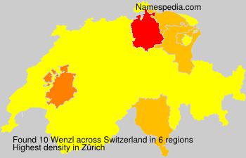 Familiennamen Wenzl - Switzerland
