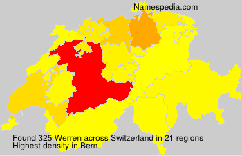 Familiennamen Werren - Switzerland