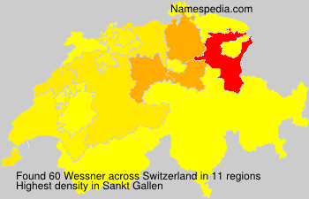 Surname Wessner in Switzerland