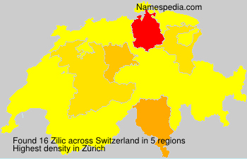 Surname Zilic in Switzerland