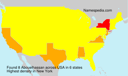 Surname Abouelhassan in USA
