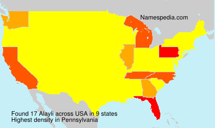 Surname Alayli in USA