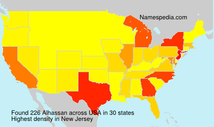 Surname Alhassan in USA