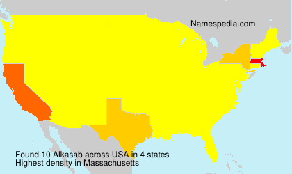 Surname Alkasab in USA
