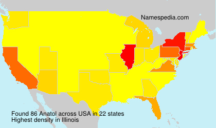 Surname Anatol in USA