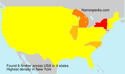 Surname Andrer in USA