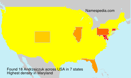 Surname Andrzejczuk in USA