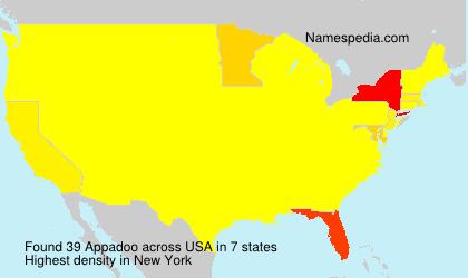 Surname Appadoo in USA