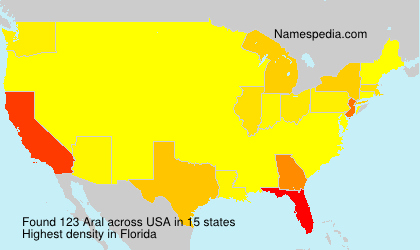 Surname Aral in USA