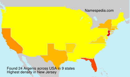Surname Argenis in USA