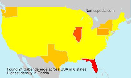 Babendererde - USA