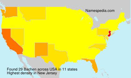 Bachen - USA