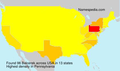 Balcerek - USA