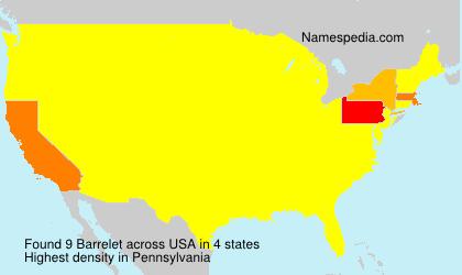 Barrelet - USA