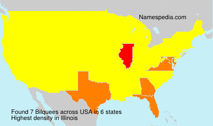 Surname Bilquees in USA