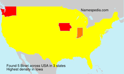 Surname Birari in USA