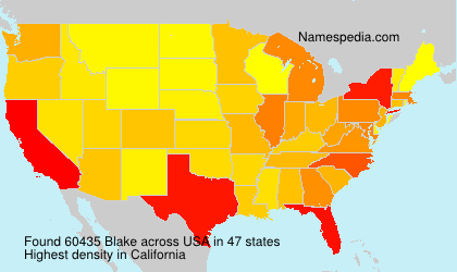 Surname Blake in USA