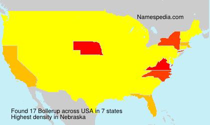 Bollerup - USA