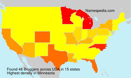 Surname Bruggers in USA