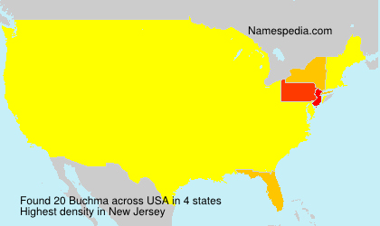 Surname Buchma in USA