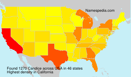Surname Candice in USA