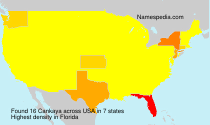 Surname Cankaya in USA