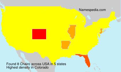 Chairo - USA