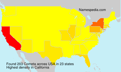 Surname Cometa in USA